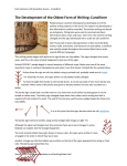 The Development of the Oldest Form of Writing: Cuneiform