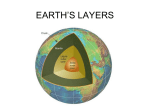 EARTH`S LAYERS