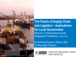 Asset 2015 - Future of supply chain logistics and implications for LG