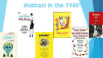 Musicals in the 1960`s Broadway