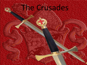 The Crusades - SFP Online!