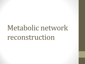 Network Reconstruction Slides