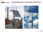 Cooper-Crouse-Hinds-Solar-Presentation