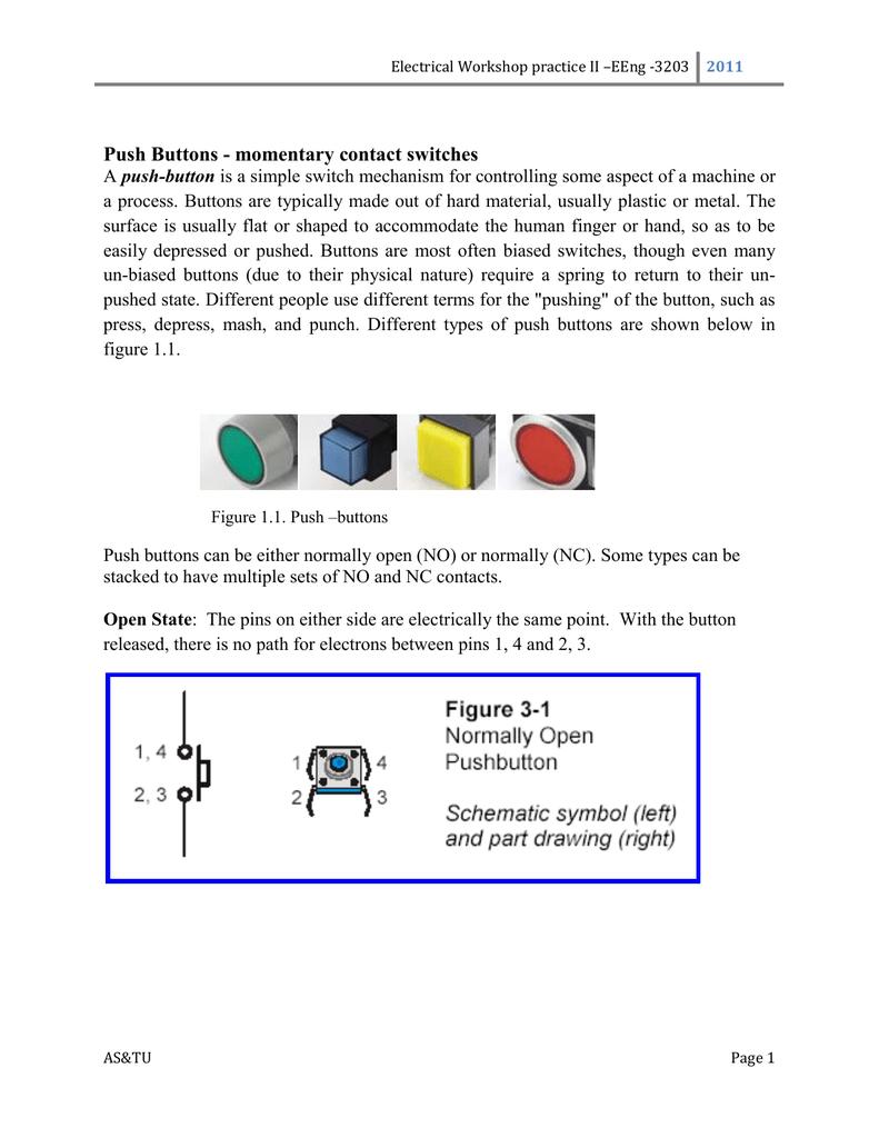 Push Button Interlocking Schematic Symbols Page 1 2