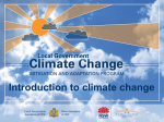 Climate change action planning