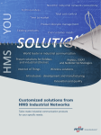 Customized solutions from HMS Industrial Networks