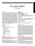 St. John`s Wort - American Botanical Council