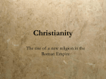 PowerPoint lecture on Christianity