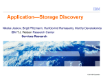 Application-Storage Discovery