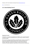 US Green Building Council - Climate Adaptation Knowledge
