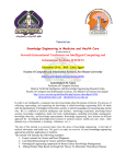 Tutorial on Knowledge Engineering in Medicine and Health Care