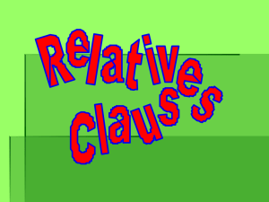 It`s the book. (this sentence is incomplete) Defining relative clauses