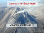 3A8 Week 01 Lecture 02-Rocks and minerals 01