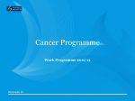 Work Programme 2012/13 - Central Cancer Network