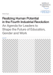 Realizing Human Potential in the Fourth Industrial