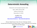 Deterministic Annealing - Digital Science Center