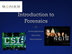 Introduction to Forensics - Tri-City