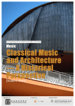 Classical Music and Architecture — A Historical Perspective