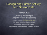 Recognizing Human Activity from Sensor Data