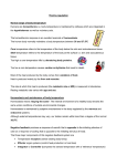 Thermo-regulation - Learning Central