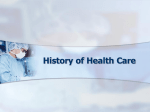 History of Health Care PowerPoint