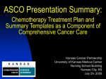 Treatment Plan and Summary - Kansas Cancer Partnership