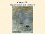 Chapter 15: European Impressionism and Modernism