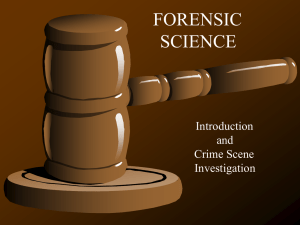 forensic science - Valhalla High School