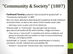 Simmel 2 - SOC 331: Foundations of Sociological Theory
