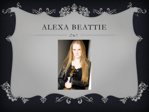 Alexa Beattie