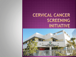 Cervical Cancer Screening Initiative