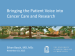 Presentation - UNC Lineberger Comprehensive Cancer Center