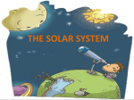 the solar system - Teaching Children