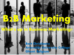 Business Marketing-BartChristiaens