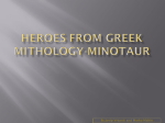Heroes from greek mithology