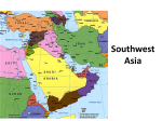 Southwest Asia Physical