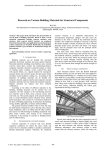 Research on Various Building Materials for Structural Components