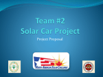 Team #2 Solar Car Project