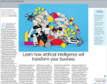 Learn how artificial intelligence will transform your business