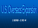 US Overseas Expansion