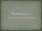 Mktg 1.02 Marketing Mix PPT