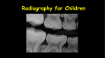 Radiography for Children