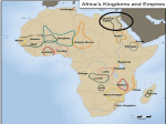 ANCIENT AFRICA 3200BC