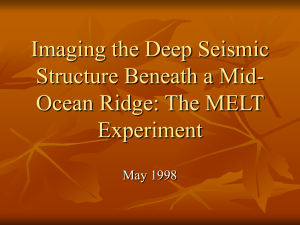 Imaging the Deep Seismic Structure Beneath a Mid