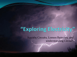 """Exploring Electricity"""