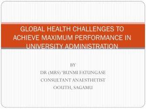 global health challenges to achieve maximum