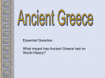Regents Review - Ancient Greece - WorlD History LHS