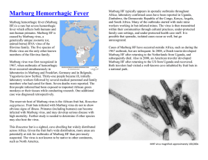 Marburg Hemorrhagic Fever — CDC