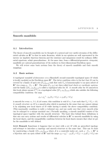 Smooth manifolds - IME-USP