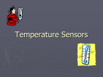 Temperature sensors - Erode Sengunthar Engineering College